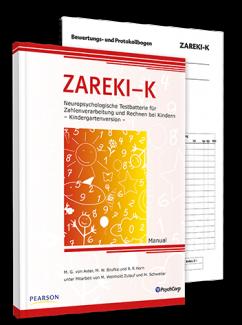 ZAREKI-K | Neuropsychologische Testbatterie für Zahlenverarbeitung und Rechnen bei Kindern - Kindergartenversion