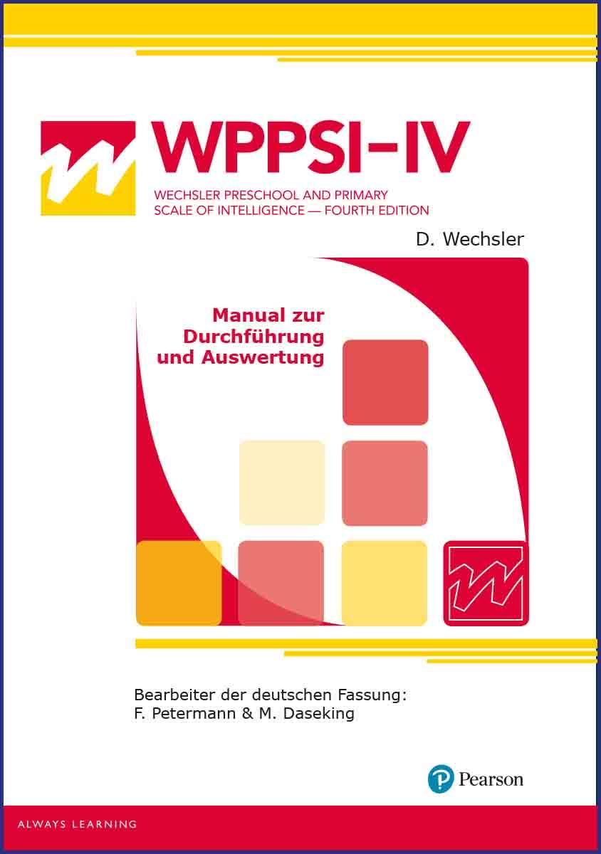 WPPSI-IV Manual
