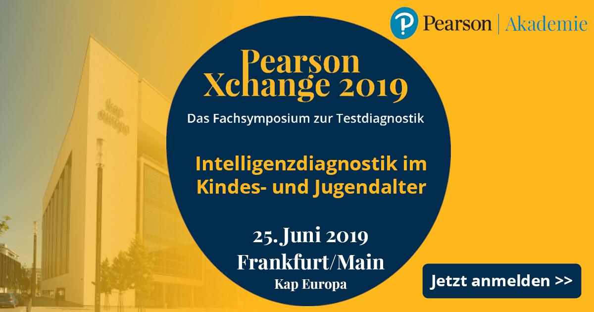 Pearson Xchange Fachsymposium 2019