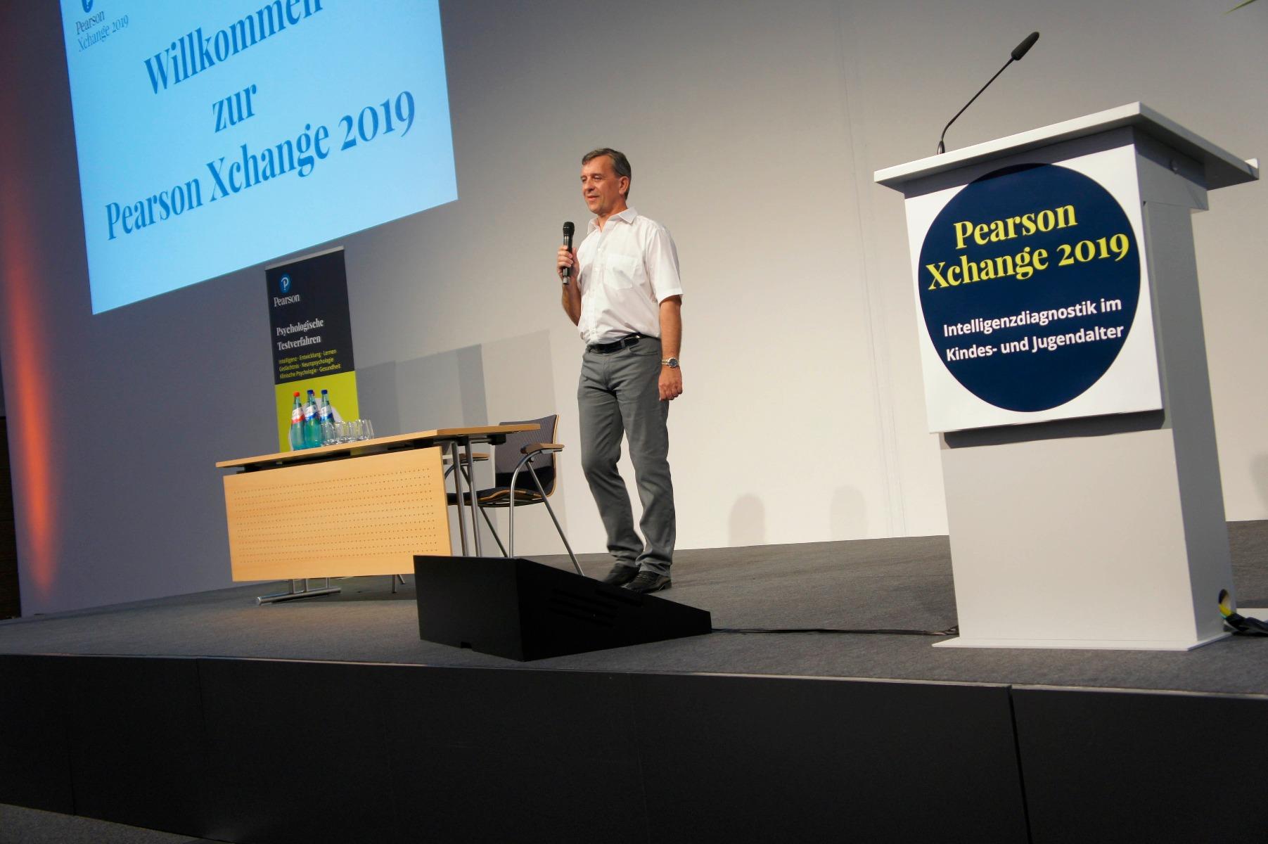Moderator der Pearson Xchange 2019