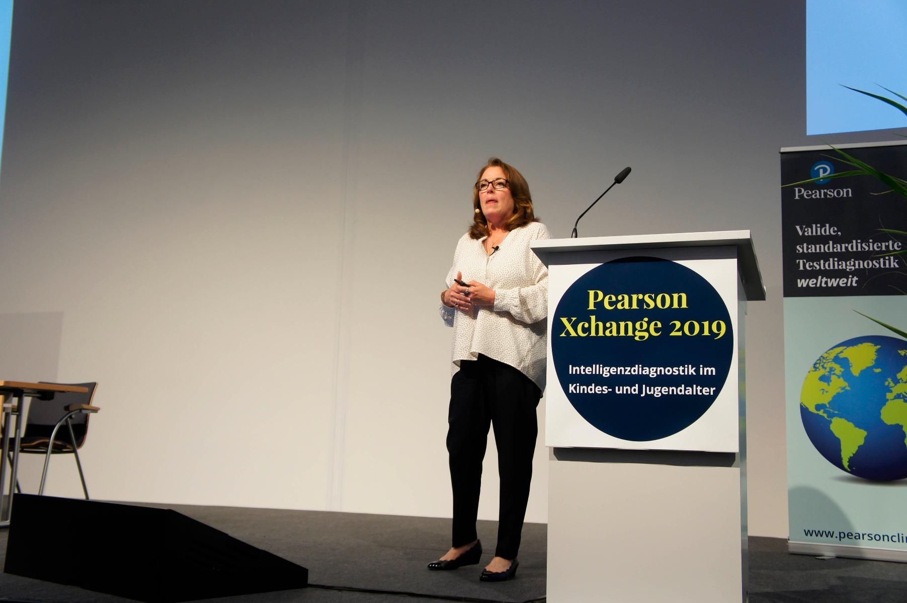 Dr. Dawn P. Flanagan auf der Pearson Xchange 2019