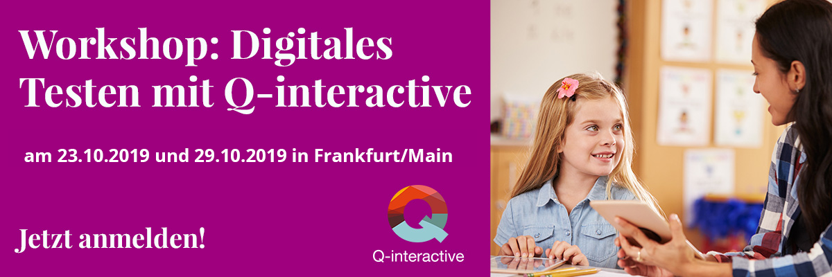 Kostenfreier Workshop zu Q-interactive