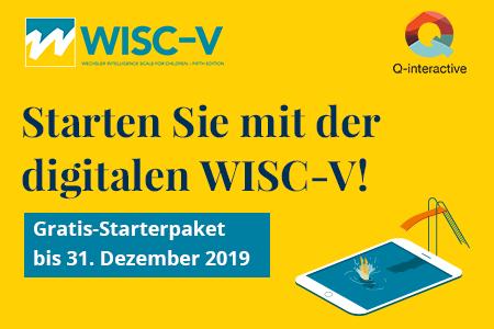 WISC-V auf Q-interactive testen!